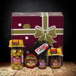 """All About The Burn"" Chilli and Cheese Hamper"
